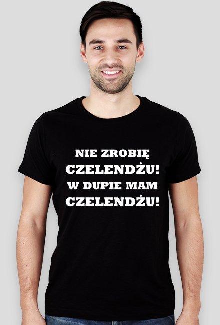 Nie zrobię czelendżu! / Iron Majdan / Rozenek / t-shirt slim