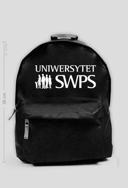 UNIWERSYTET SWPS - plecak mały czarny