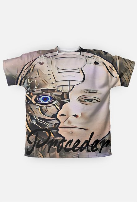 Koszulka FullPrint - Model - Proceder