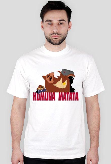 Komuna Matata - Koszulka Męska
