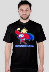 Koszulka Supertata prezent na Dzień Ojca