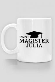 Kubek Pani magister z imieniem Julia