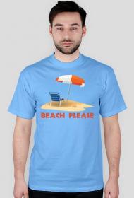 Koszulka Beach please