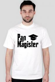 Koszulka Pan Magister prezent z okazji obrony