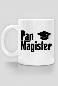 Obrona magisterska prezent - Pan Magister