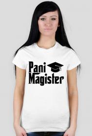 Obrona pracy magisterskiej prezent - koszulka Pani Magister