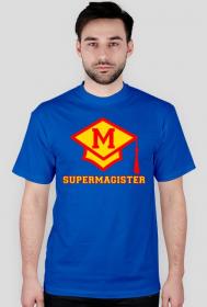 Prezent na obronę - koszulka Supermagister