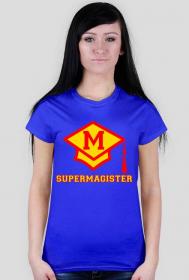 Koszulka Supermagister prezent po obronie