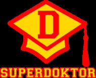 Prezent na obronę doktoratu - koszulka Superdoktor