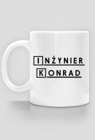 Kubek Inzynier z imieniem Konrad
