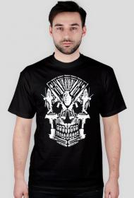 Koszulka z czaszką militarną