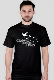 Gra o tron koszulka Crows before hoes