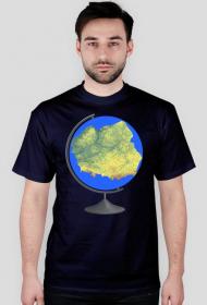 Koszulka z globusem Polski