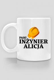 Kubek Pani Inzynier z imieniem Alicja