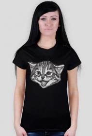 Kot koszulka damska