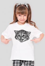 Kot koszulka dziecięca