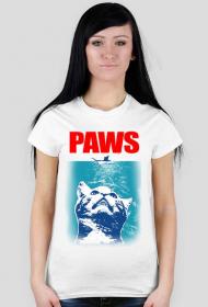 Paws koszulka z kotem damska