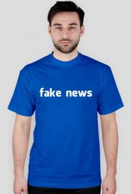 Koszulka Fake news #deletefacebook