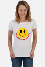 Zdradziecka morda T-shirt damski