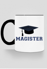 Prezent po obronie pracy magisterskiej - kubek Magister