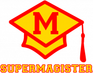 Prezent dla magistra - kubek Supermagister