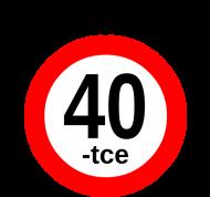 Prezent na 40 urodziny - Zycie zaczyna sie po 40-tce kubek