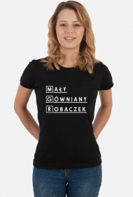 Koszulka dla magistra MGR mały gówniany robaczek