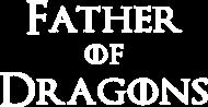 Koszulka Father of Dragons prezent dla taty