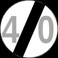 Prezent na 40 urodziny koszulka ze znakiem 40