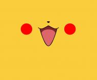 Pikachu maseczka z nadrukiem