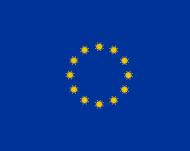 Maseczka flaga Unii Europejskiej wirus