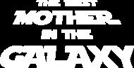 Koszulka The best mother in the galaxy