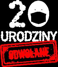 20 urodziny odwołane - koszulka