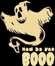Koszulka How do you boo damska halloween