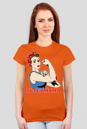 Supermama koszulka prezent dla mamy
