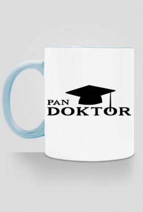 Obrona pracy doktorskiej prezent Pan doktor