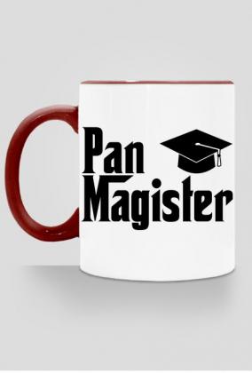 Prezent dla magistra z okazji obrony - kubek Pan Magister