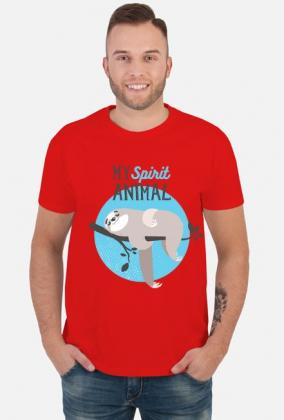 Koszulka z leniwcem My spirit animal