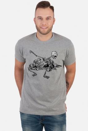 Koszulka kosciotrup gitara