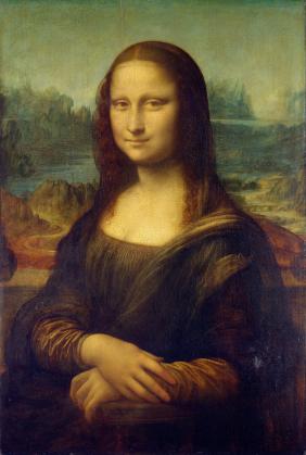 Mona Lisa - Gioconda koszulka damska