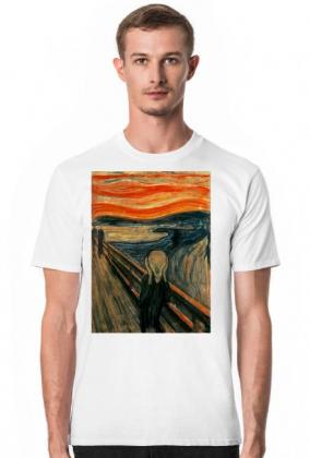 Edvard Munch Krzyk koszulka