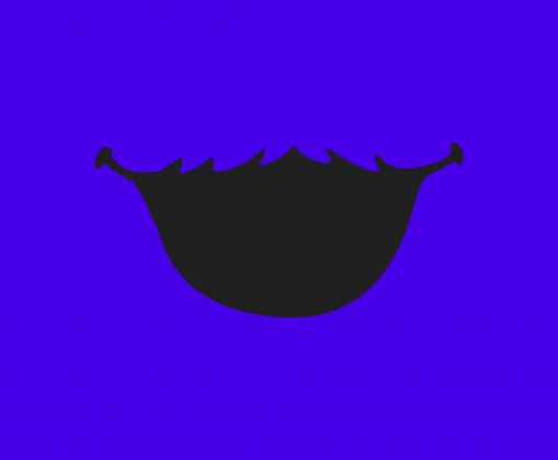 Maseczka wielorazowa Ciasteczkowy Potwór