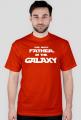 Koszulka The best father in the galaxy prezent dla taty