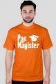 Prezent na obronę - koszulka Pan Magister