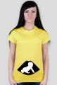 Śmieszna koszulka dla ciężarnej - USG