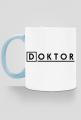 Prezent na doktorat - kubek Doktor