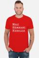 MGR - maly gowniany robaczek koszulka dla magistra