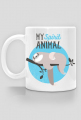 Kubek z leniwcem - My spirit animal