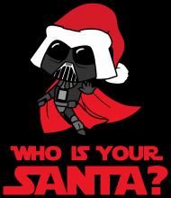 Who is your santa? Darth Vader hoodie