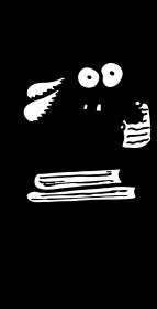 Mól książkowy - koszulka męska